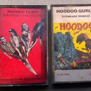 CASSETTES AUDIO HOODOO GURUS