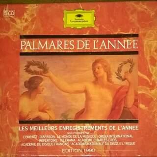 PALMARÈS DE L'ANNÉE