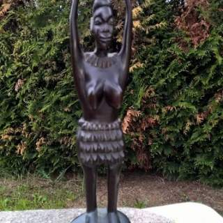 statuette femme africaine