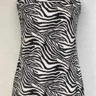 TOP LONG ZEBRE