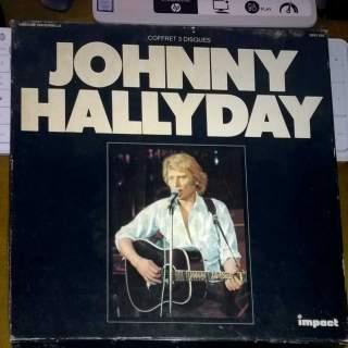 COFFRET JOHNNY HALLYDAY
