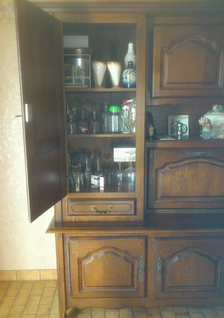 salle manger ch ne les meubles brocante et vide. Black Bedroom Furniture Sets. Home Design Ideas