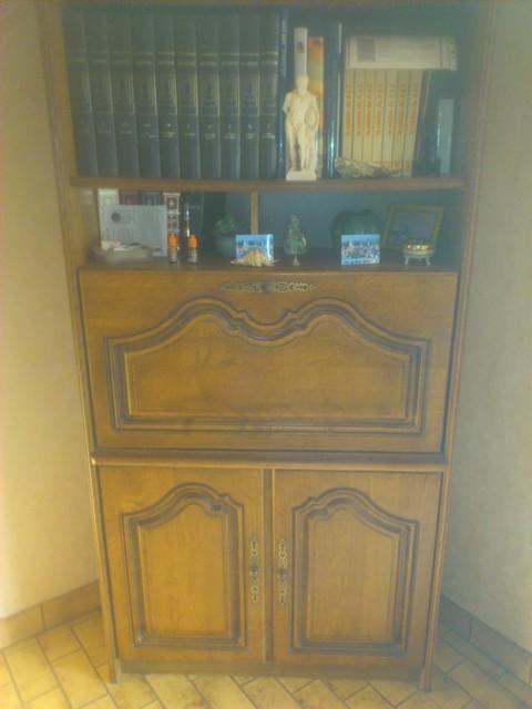 biblioth que secr taire les meubles brocante et vide. Black Bedroom Furniture Sets. Home Design Ideas